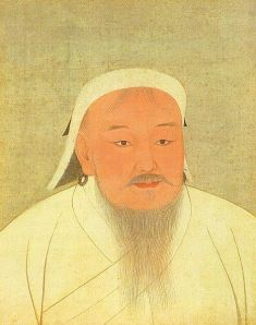 Genghis Khan Portrait