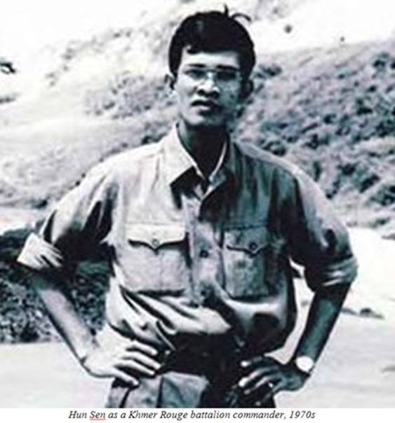 hun sen was Khmer Rouge soldier-3