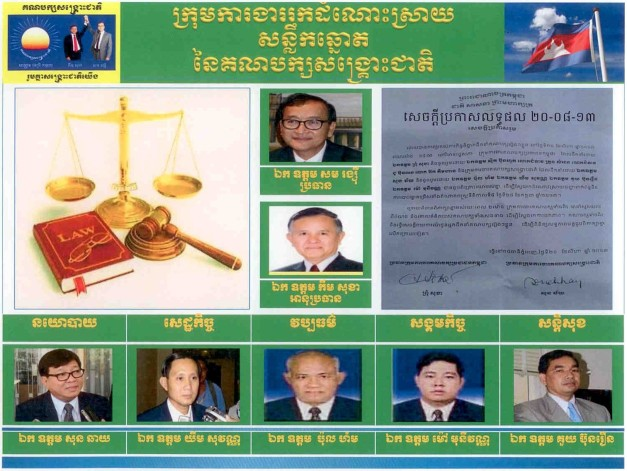 Group work for Irregularly vote from CNRP01