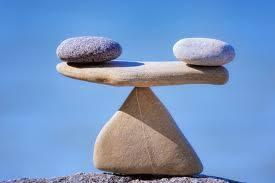 Balancing roks