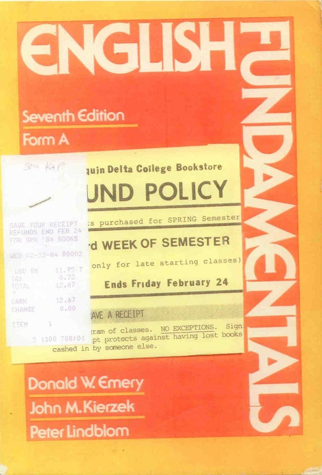 English Grammar 1984
