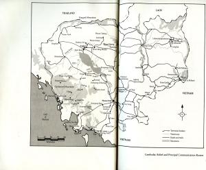 Cambodia Map004